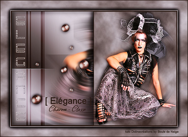 """Galerie Concours Muses & Tuto : """"Elegance"""" Bouled10"""