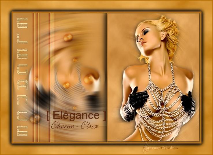 "Galerie Concours Muses & Tuto : ""Elegance"" Cheyen11"