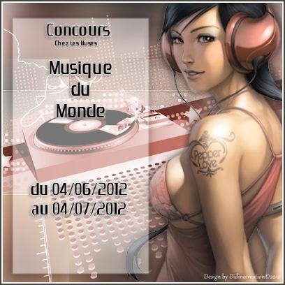 Concours Musique Du Monde Logo19