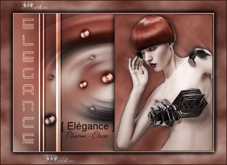 "Galerie Concours Muses & Tuto : ""Elegance"" Michel11"