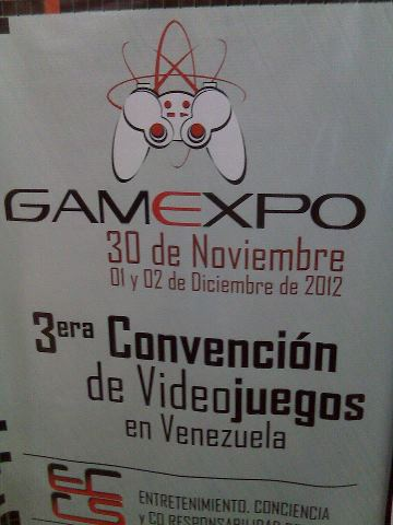 GAMEXPO 2012 30 DE NOV 1 Y 2 DE DIC 201211