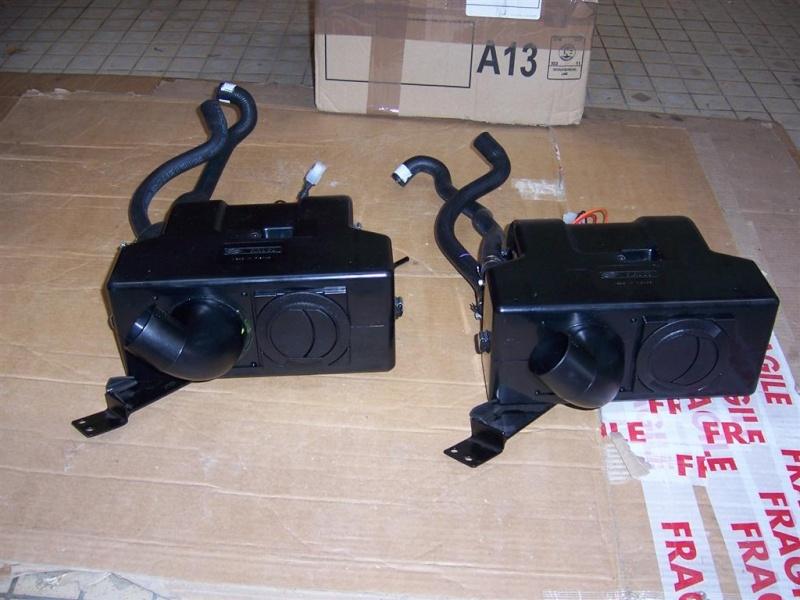 chauffage - montage du nouveau  bloc chauffage SIROCO pour F16 100_2810