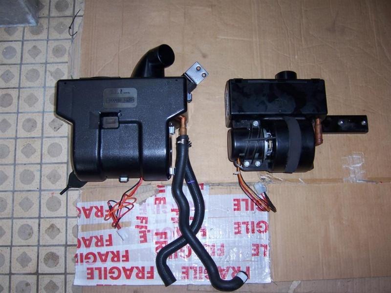 chauffage - montage du nouveau  bloc chauffage SIROCO pour F16 100_2814