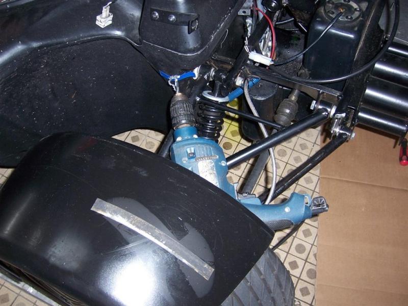chauffage - montage du nouveau  bloc chauffage SIROCO pour F16 100_2924