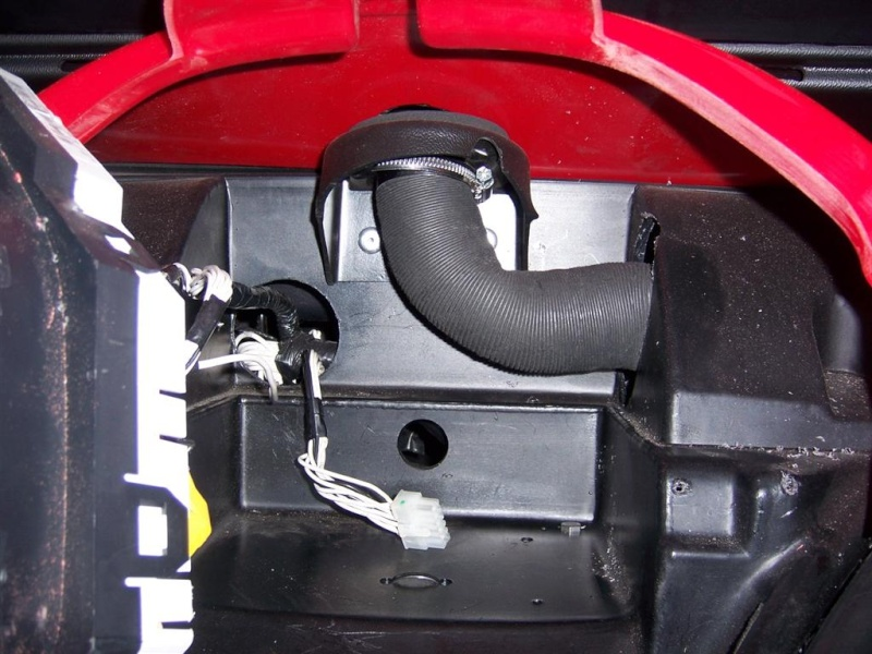 chauffage - montage du nouveau  bloc chauffage SIROCO pour F16 100_2926