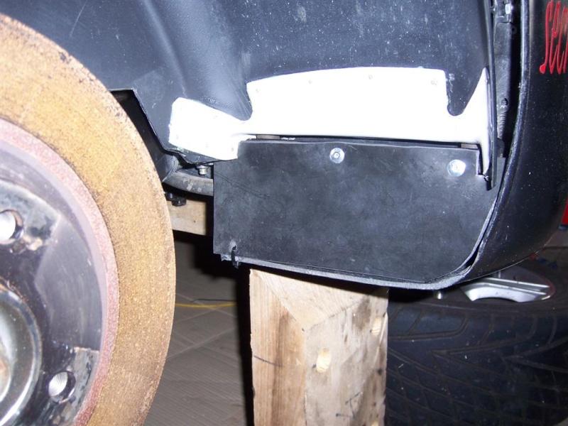 Réparation Garde Boue Arrière F16 100_3310