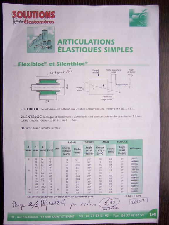 Adaptation Silentbloc par alésage diam 21,95 mm amortisseur avant F16 100_3441