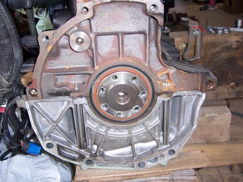 DEPOSE BOITE DE VITESSE JH3 F16 sur moteur à terre 100_4325