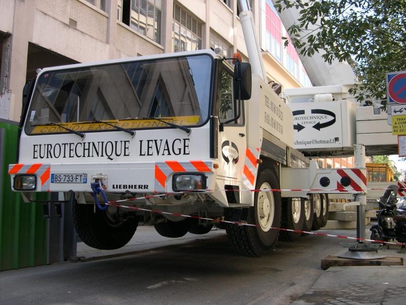 Les grues de EUROTECHNIQUE Levage (France) Dscn3314