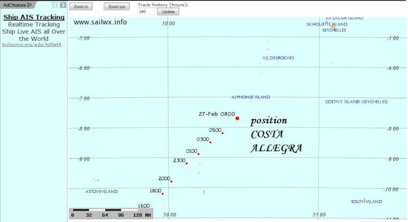 Costa Allegra : Encore un souci sur une croisière... Allegr10