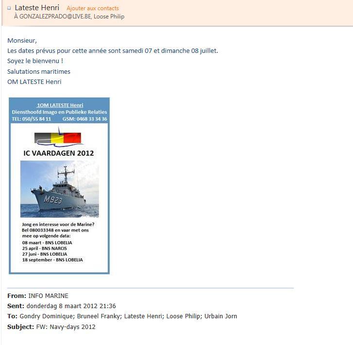 Quand se feront les Navy Days 2012 à Zeebrugge ??? 12-03-10