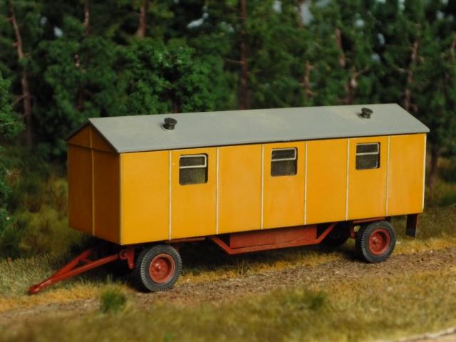 Baustellenanhänger Typ 7 mit Wasch- und Duscheinrichtung Bauwag10