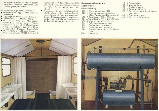 Baustellenanhänger Typ 7 mit Wasch- und Duscheinrichtung Pro00210