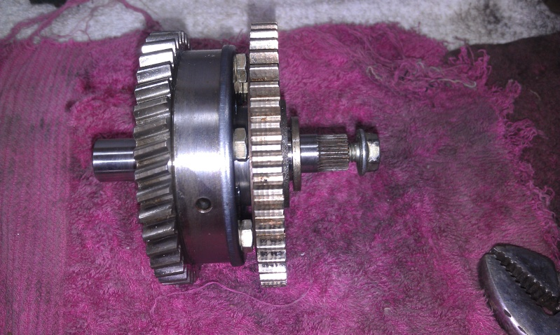 Sprag Clutch & Cleaning the Sprag clutch and bearing replacement. 21_all10