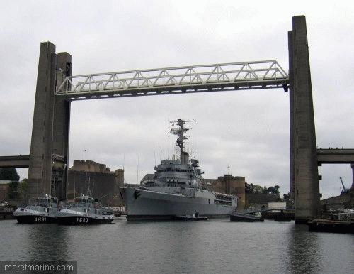 Le pont de Recouvrance à Brest Recouv10