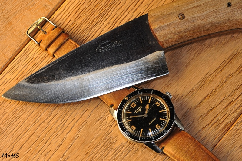 A couper le souffle: Montres et couteaux... Longin10