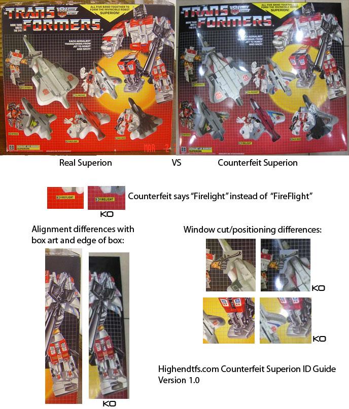 Transformers G1 KO, comment ne pas se faire avoir Superi10
