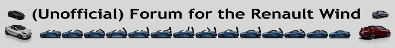 (unofficial) Forum For The Renault Wind