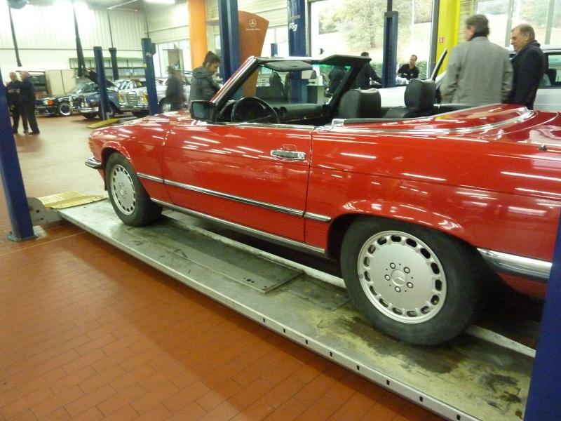 """Le 5/112011 après-midi """"Mercedes-Benz Passion au centre Technique MB de Stains - Page 2 P1040119"""