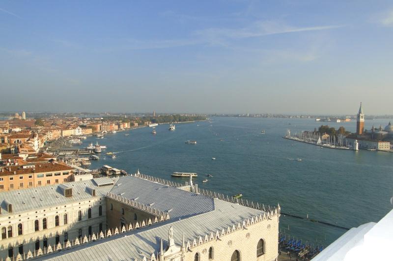 Photographie : Vue sur la lagune de Venise depuis le campanile de la place Saint-Marc Dsc05910