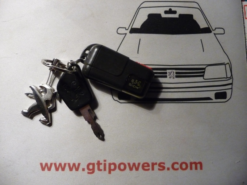 Le trousseau de clef de votre GTI P1170320