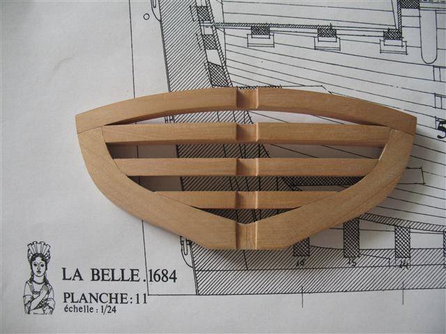 La Belle 1684 scala 1/24  piani ANCRE cantiere di grisuzone  Img_4214