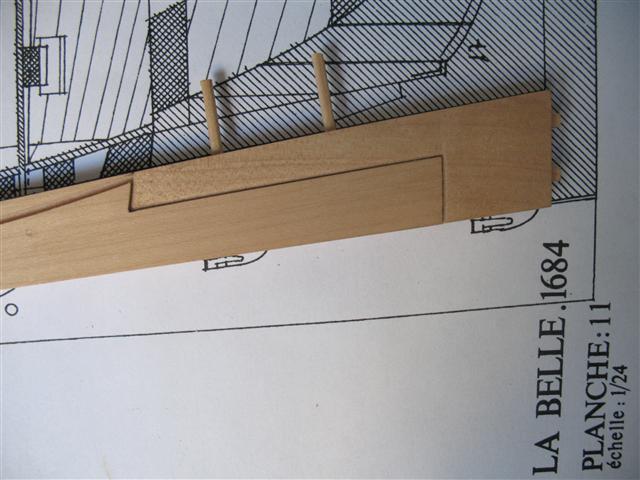 La Belle 1684 scala 1/24  piani ANCRE cantiere di grisuzone  Img_4314