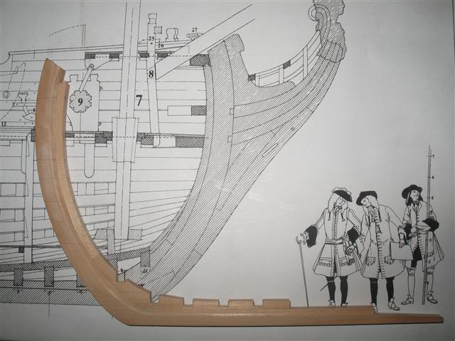La Belle 1684 scala 1/24  piani ANCRE cantiere di grisuzone  Img_4911