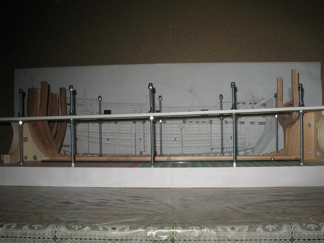 La Belle 1684 scala 1/24  piani ANCRE cantiere di grisuzone  Img_5019