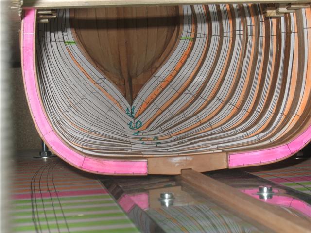 La Belle 1684 scala 1/24  piani ANCRE cantiere di grisuzone  Img_5122