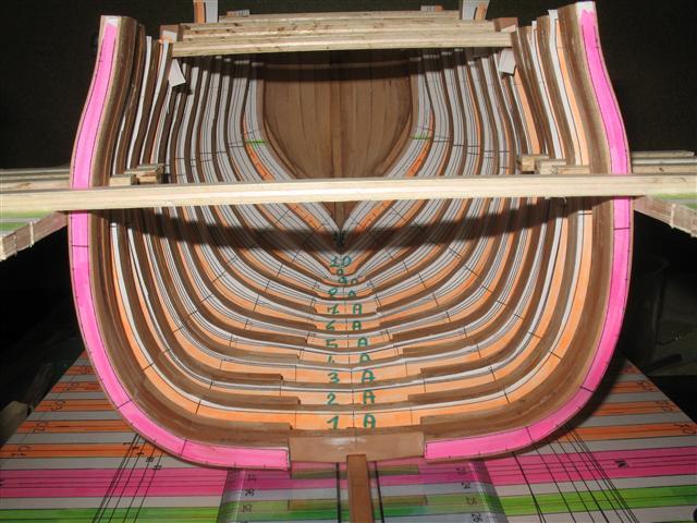 La Belle 1684 scala 1/24  piani ANCRE cantiere di grisuzone  Img_5123