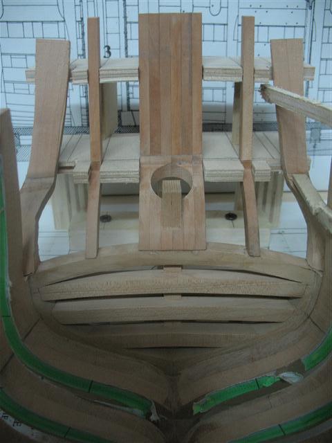 La Belle 1684 scala 1/24  piani ANCRE cantiere di grisuzone  Img_7010