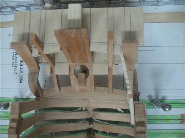 La Belle 1684 scala 1/24  piani ANCRE cantiere di grisuzone  Img_7012