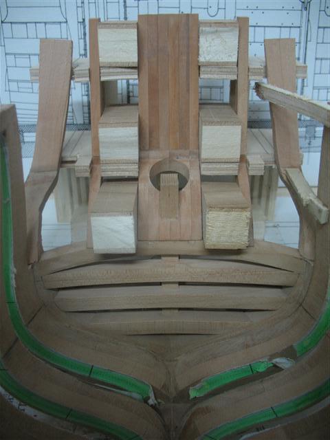 La Belle 1684 scala 1/24  piani ANCRE cantiere di grisuzone  Img_7015