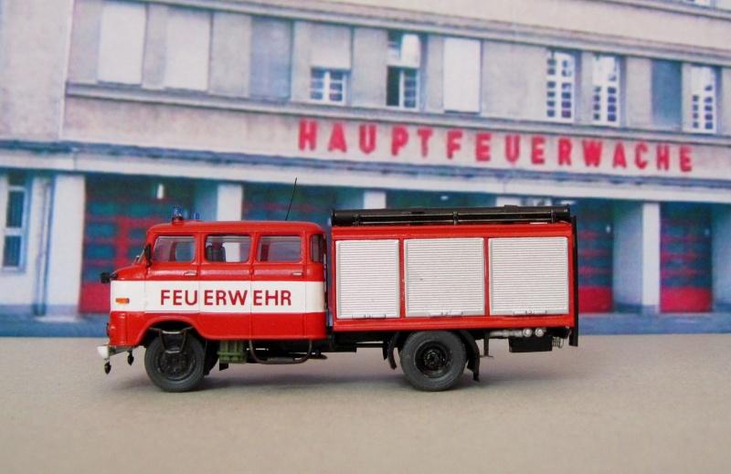 W50 - Lösch- und Sonderfahrzeuge aus Friedrichs Vitrine 110