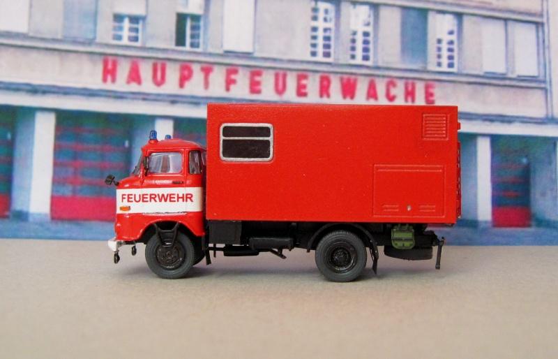 W50 - Lösch- und Sonderfahrzeuge aus Friedrichs Vitrine 310