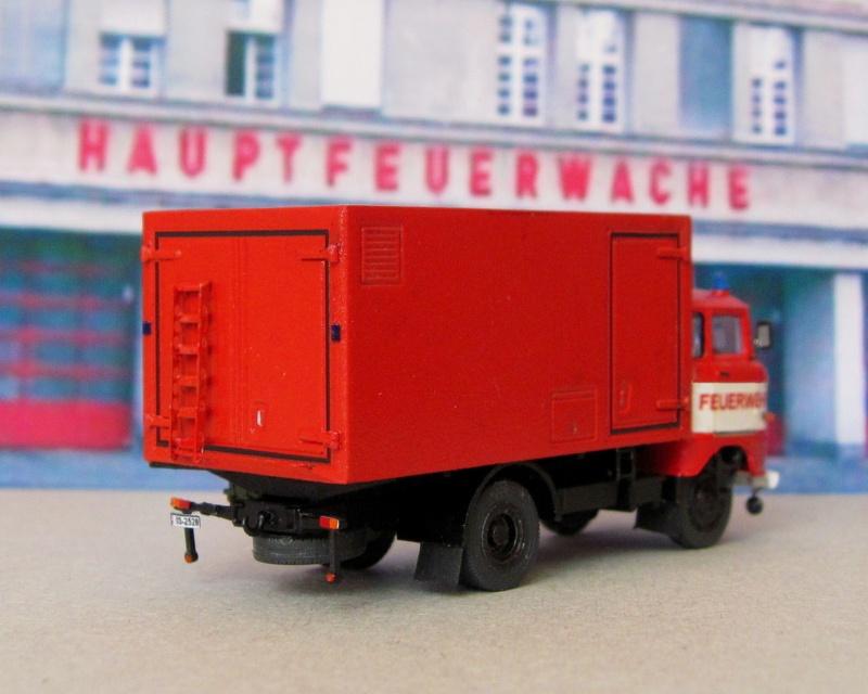 W50 - Lösch- und Sonderfahrzeuge aus Friedrichs Vitrine 410
