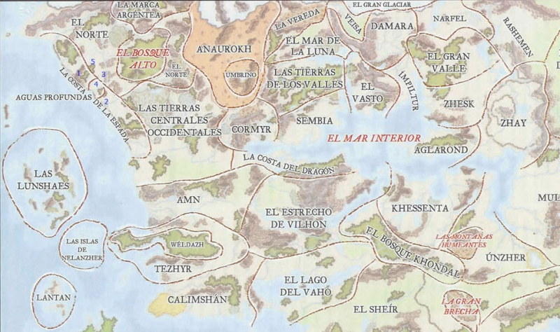 Saber: Regiones Region10