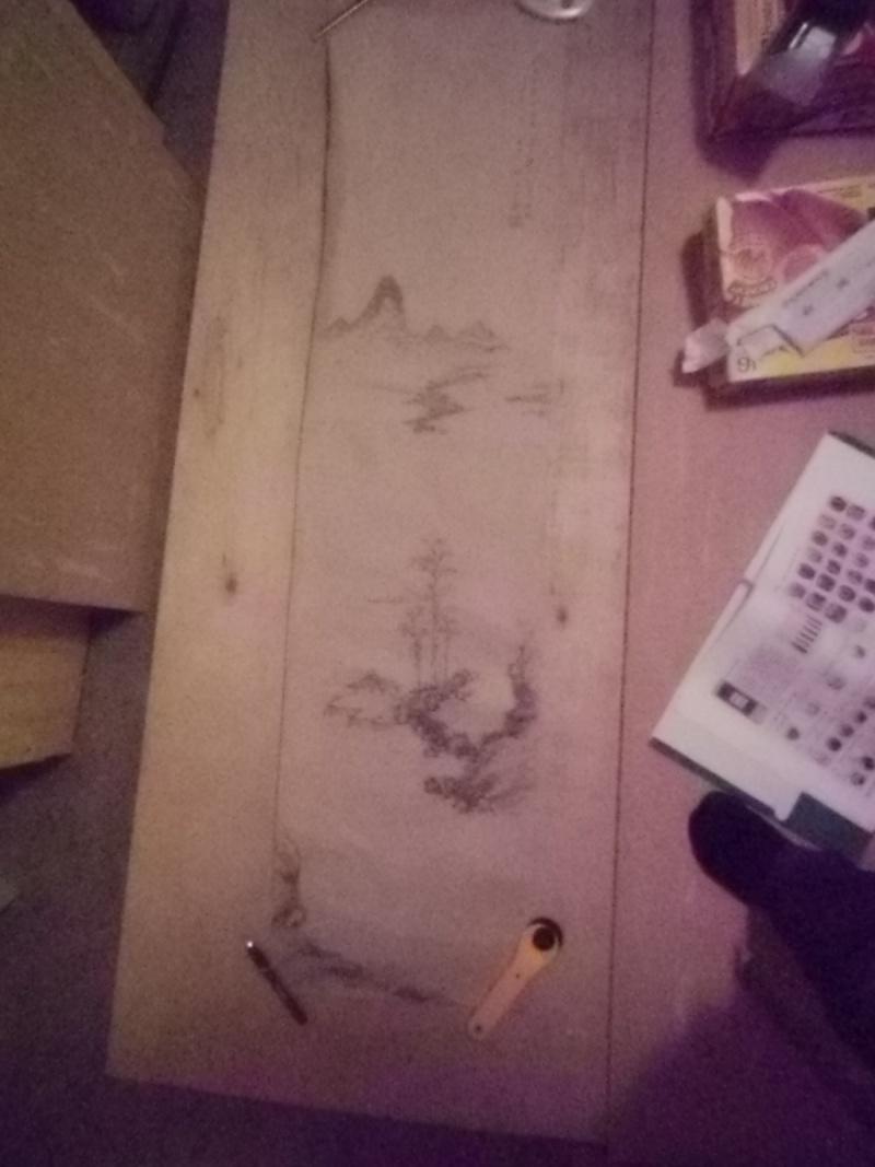 Wall scroll remount 1 & 2 Shihon11