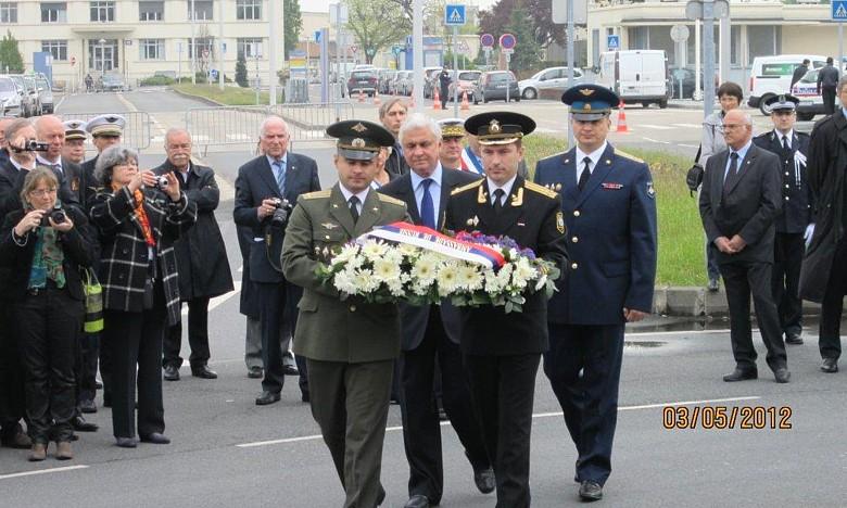 70ème anniversaire de l'arrivée du Normandie en URSS 0711