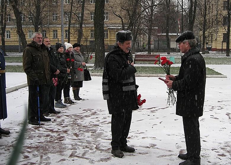 Moscou - 79ème Anniversaire de l'arrivée des français 0811