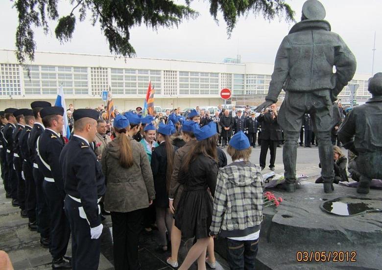70ème anniversaire de l'arrivée du Normandie en URSS 1011