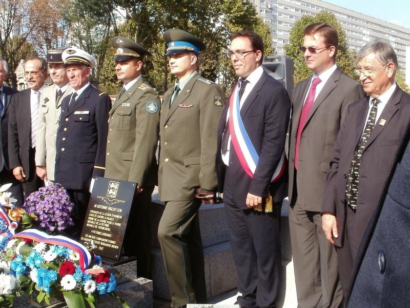 Nouvelle plaque sur la sépulture de Léon Ougloff Asnier13