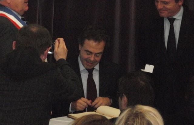 Exposition, Conférence et Inauguration au Pecq (78) en 2011 Nnpecq13