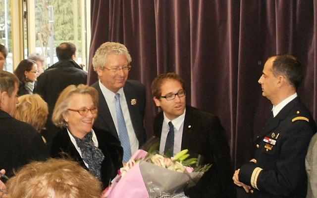 Exposition, Conférence et Inauguration au Pecq (78) en 2011 Nnpecq15