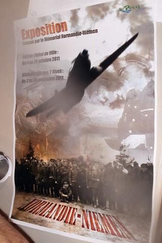 Exposition, Conférence et Inauguration au Pecq (78) en 2011 P9100010