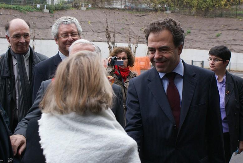 Exposition, Conférence et Inauguration au Pecq (78) en 2011 Photo610