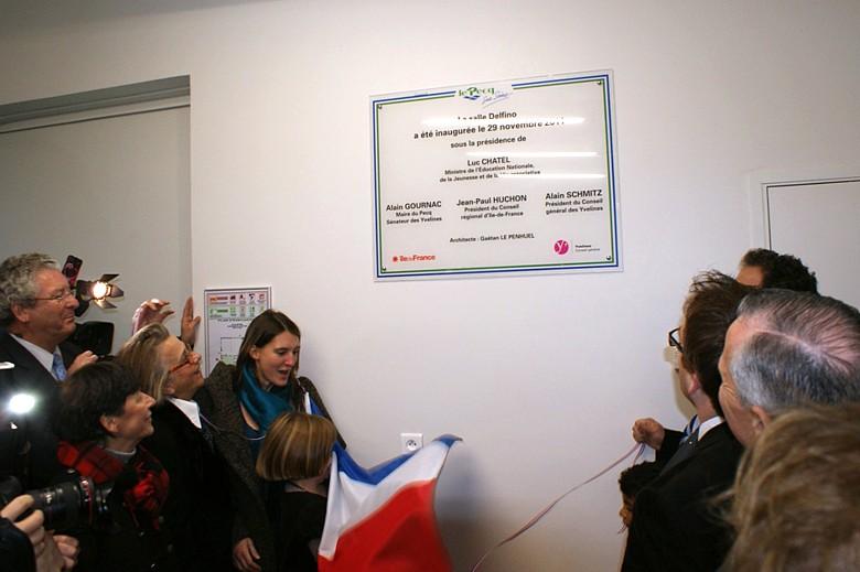 Exposition, Conférence et Inauguration au Pecq (78) en 2011 Photo710