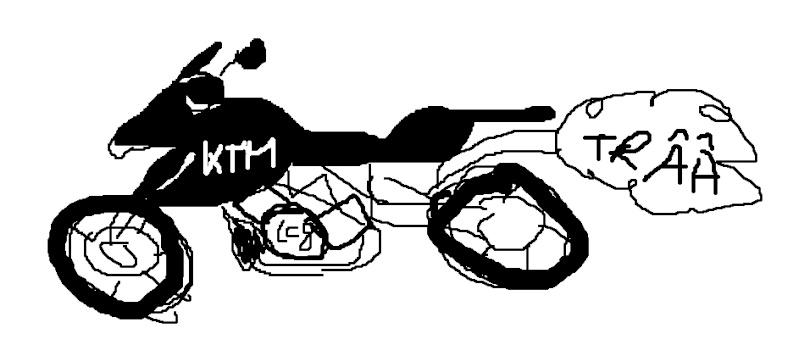 Aïe ! qu'est-ce que j'ai fait là....essai KTM 990 SMT... - Page 2 Tra10