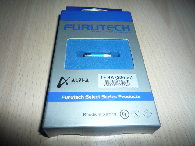 Furutech Fuse 20mm 4Amp (Used) P1030057